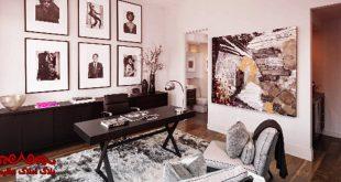 دکوراسیون اداری در فضای خانگی چگونه است؟ | بلاگ املاک عظیمیان | معماری و طراحی داخلی