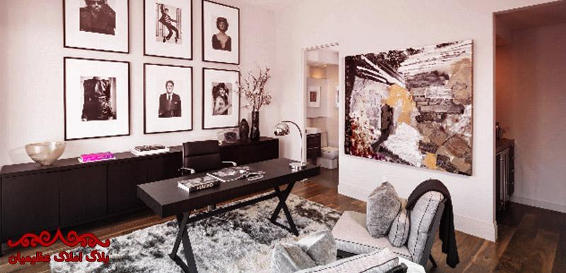 دکوراسیون اداری در فضای خانگی چگونه است؟   بلاگ املاک عظیمیان   معماری و طراحی داخلی