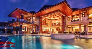 لوکس ترین خانه های دنیا چه ویژگی هایی دارند؟ | بلاگ املاک عظمیان|امکانات هتلینگ و گردشگری