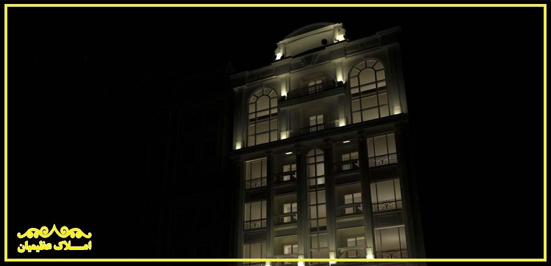 املاک عظیمیان - خرید و فروش - رهن و اجاره - آپارتمان 200 متر - آجودانیه (فروش)