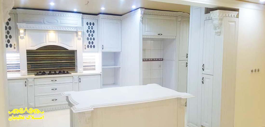 فروش آپارتمان در نیاوران - 185 متر - (بازسازی شده) - املاک عظیمیان - خرید و فروش