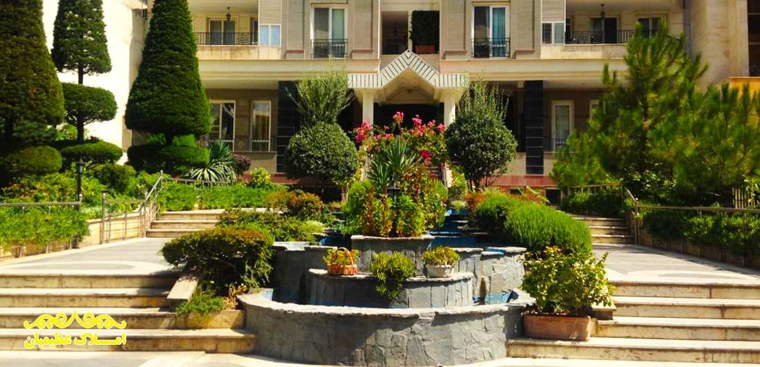 آپارتمان 200 متر فرمانیه (سنبل) (فروش) - املاک عظیمیان - خرید و فروش - رهن و اجاره
