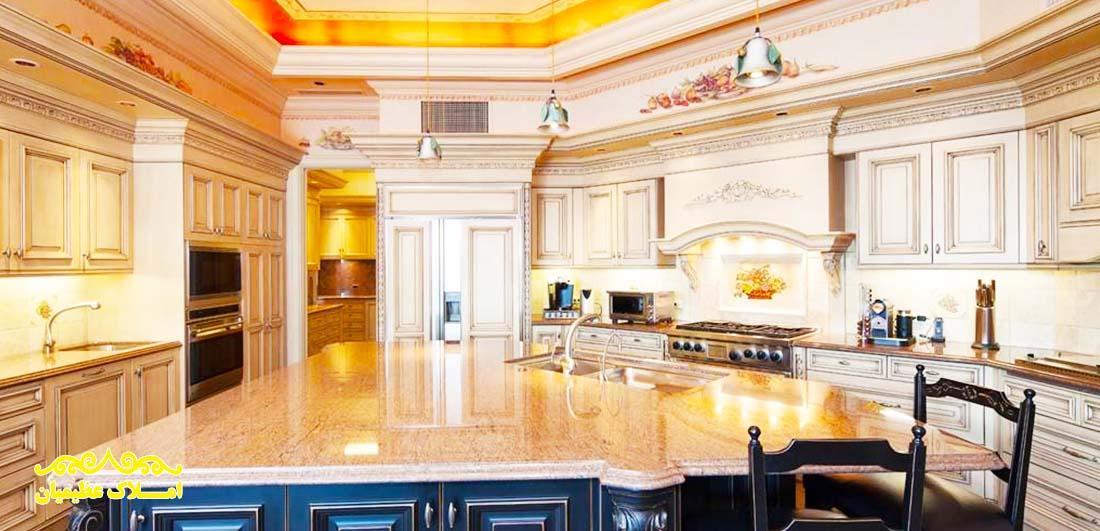 آپارتمان (پنت هاوس) 680 متر - نیاوران (فروش) - املاک عظیمیان - خرید و فروش - رهن و اجاره
