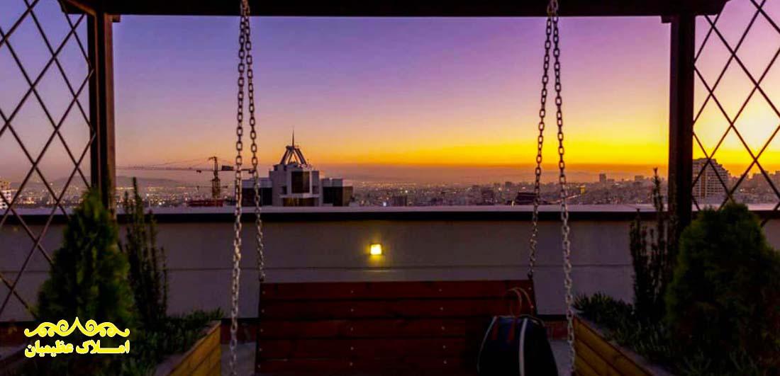 آپارتمان 410 متر - نیاوران (فروش) - املاک عظیمیان - خرید و فروش - رهن و اجاره