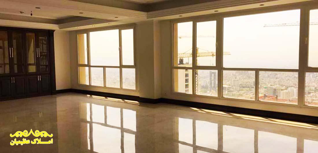 آپارتمان 245 متر - نیاوران (فروش) - املاک عظیمیان - خرید و فروش - رهن و اجاره