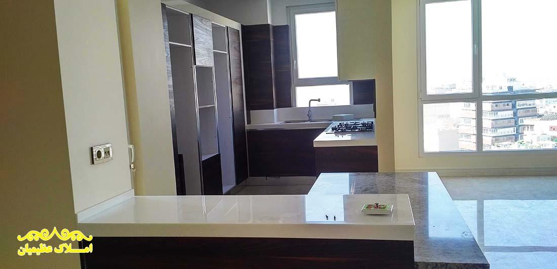 فروش آپارتمان در اقدسیه - 170 متر - (نوساز) - املاک عظیمیان 02122832004