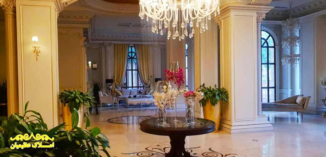 فروش آپارتمان در نیاوران - 220 متر - (مرجان) - املاک عظیمیان - خرید و فروش
