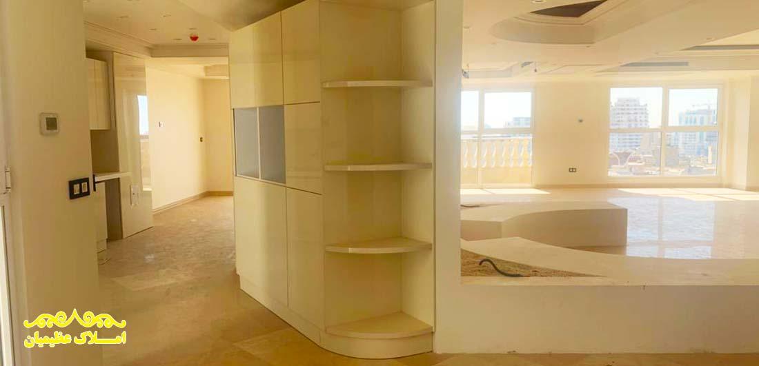 آپارتمان 425 متر - زعفرانیه (رهن و اجاره) - املاک عظیمیان - خرید و فروش - رهن و اجاره