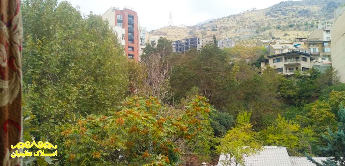 فروش آپارتمان در نیاوران - 135 متر - (چشم انداز عالی) - املاک عظیمیان - خرید و فروش