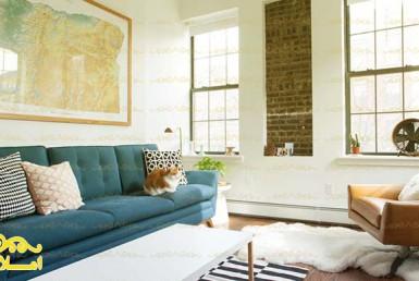 ویژگی های یک اتاق نشیمن لوکس در آپارتمان شما - املاک عظیمیان - مقالات - معماری
