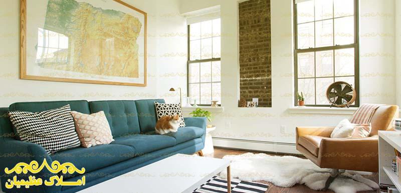ویژگی های یک اتاق نشیمن لوکس در آپارتمان شما