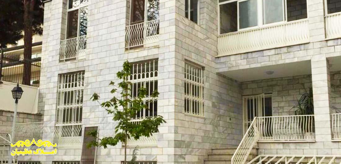 فروش ویلا در کامرانیه - 1370 متر زمین - (510 متر بنا) - املاک عظیمیان - خرید و فروش