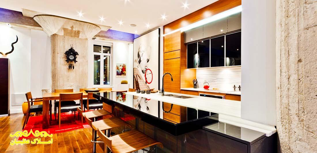 آپارتمان 270 متر - صاحبقرانیه (فروش) - املاک عظیمیان - خرید و فروش - رهن و اجاره