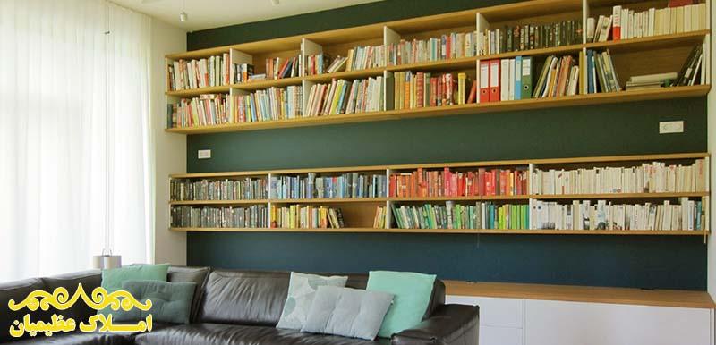 چگونه از کتاب برای بهتر شدن دکوراسیون منزل استفاده کنیم؟