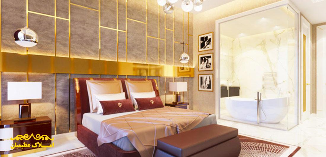 فروش آپارتمان در اقدسیه - 550 متر - (صاحبقرانیه) | املاک عظیمیان | خرید و فروش آپارتمان