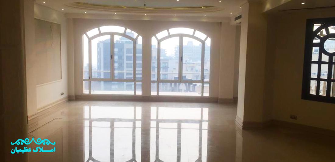 رهن و اجاره آپارتمان اقدسیه - 280 متر (عمارتی مجلل) | املاک عظیمیان | رهن و اجاره آپارتمان